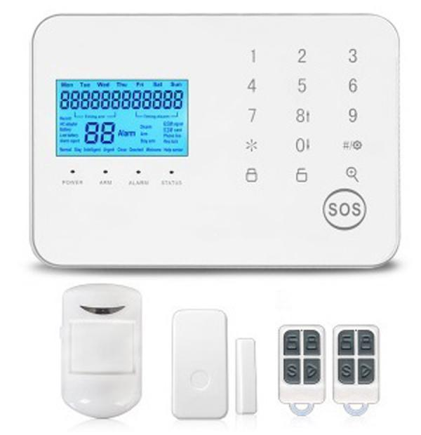 KS-551 Wireless Burglar Security Alarm System | GSM+PSTN