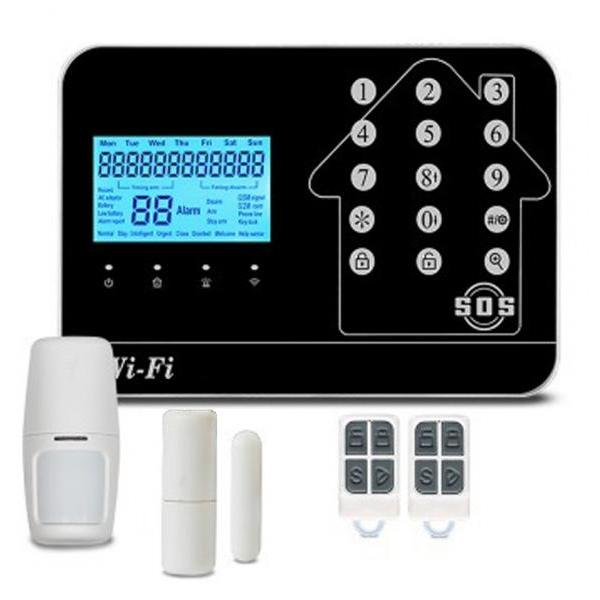 KS-552 Wireless Burglar Security Alarm System | WIFI+GSM+PSTN