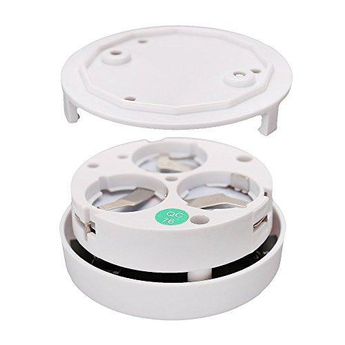 mini smoke detector alarm ks 413 key security. Black Bedroom Furniture Sets. Home Design Ideas